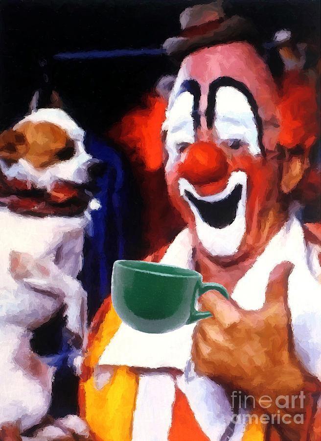 Big Top Coffee    Artist:    Frederick Luff