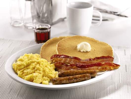 Show your AARP membership card at Denny's restaurants and