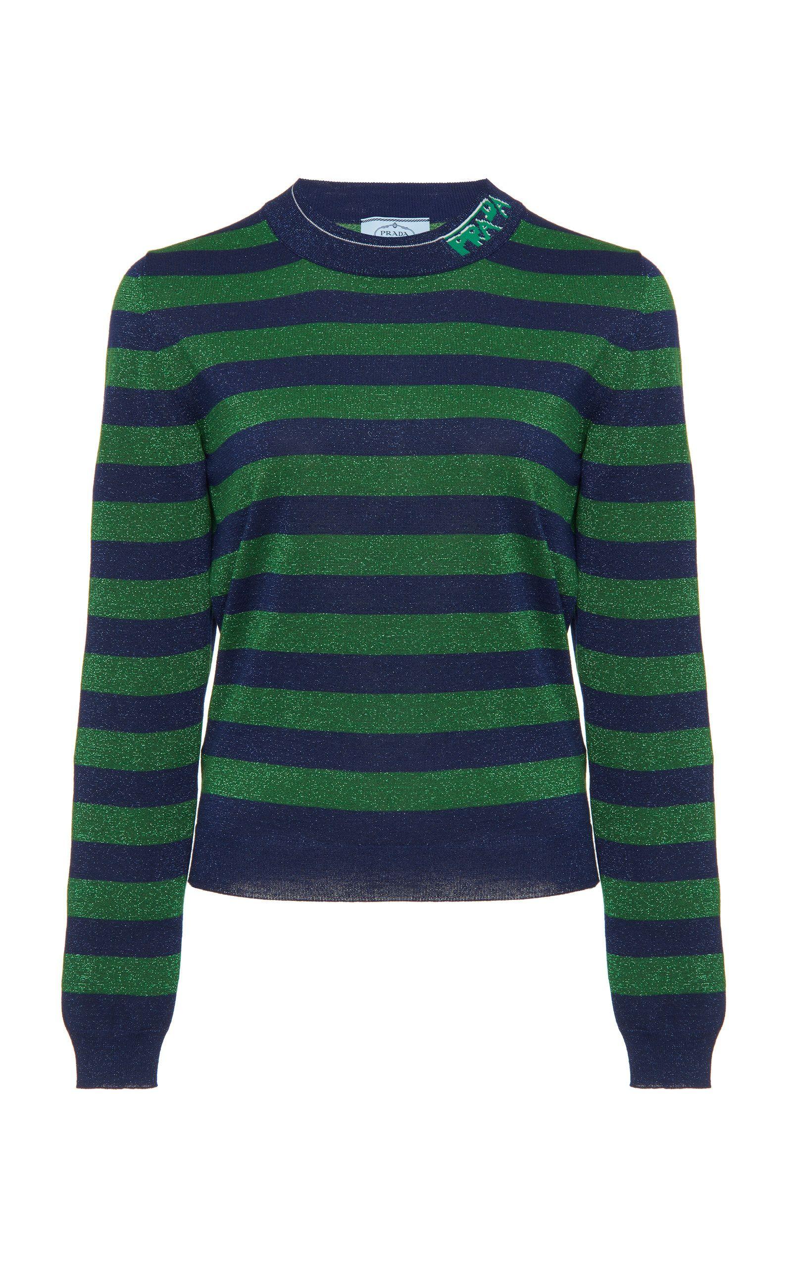 99864ad685ec PRADA STRIPED WOOL SWEATER. #prada #cloth | Prada | Wool sweaters ...