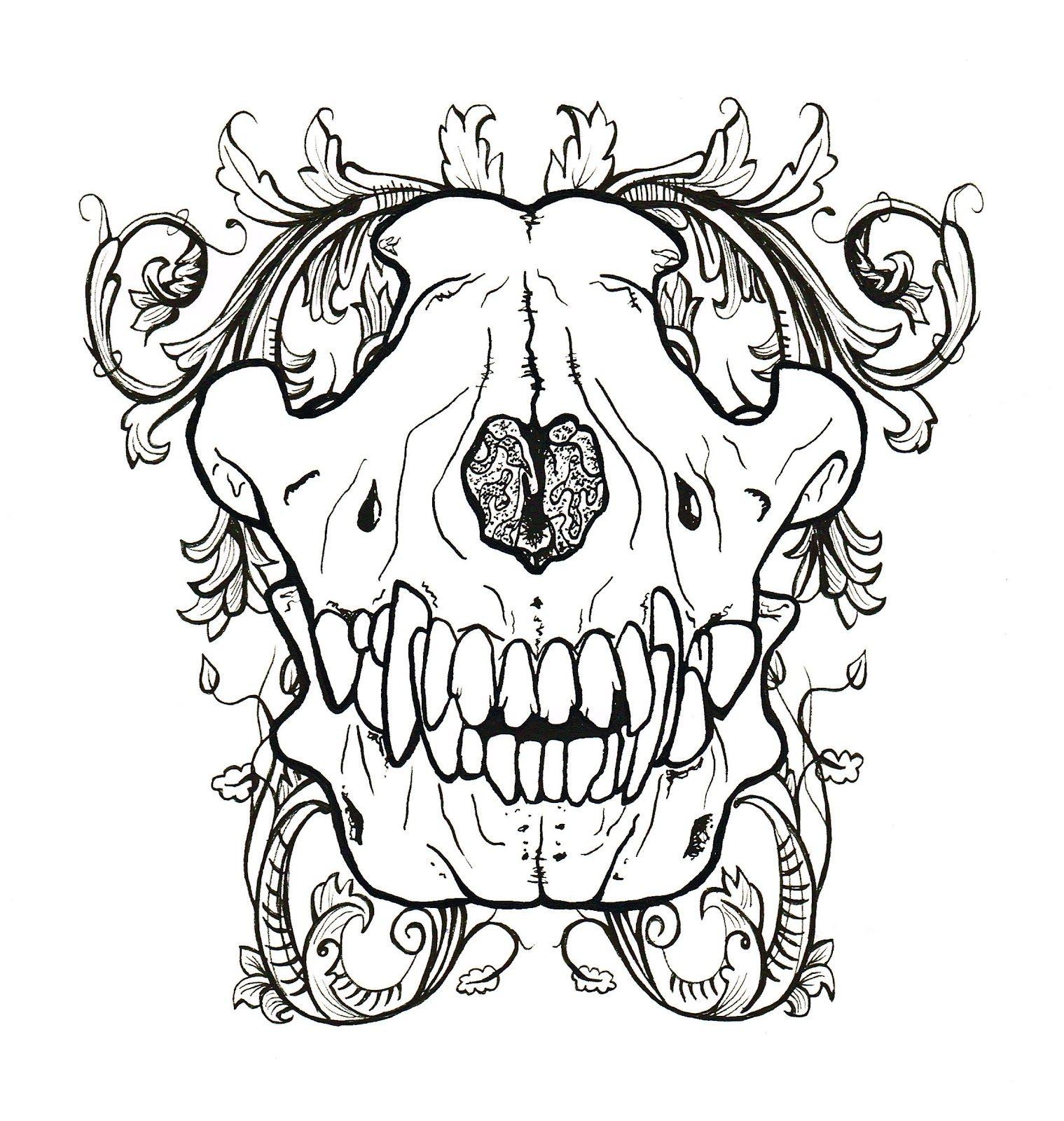 wolfskull.jpg (1519×1600)