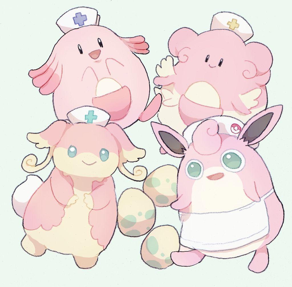 Pokemon Chansey Shiny