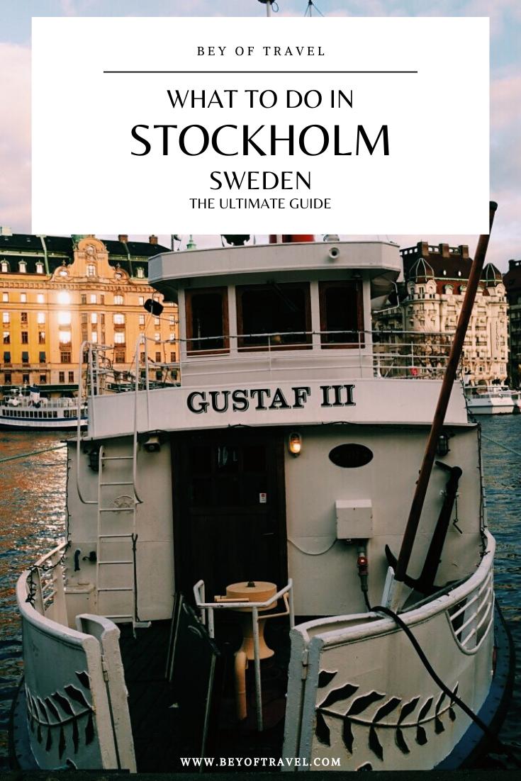 Sightseeing In Stockholm During Winter Bey Of Travel Stockholm Travel Scandinavian Cruises Sweden Travel