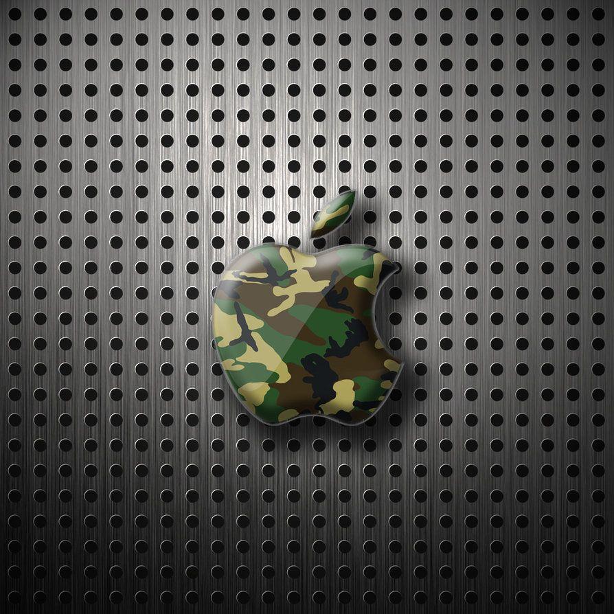ipad Wallpaper - Apple camo by LaggyDogg on DeviantArt