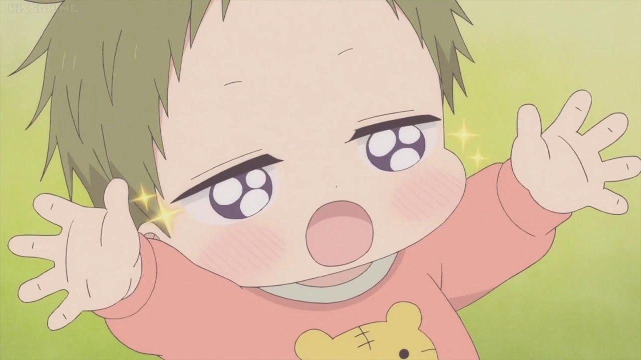 Kotaro Helps Out His Nii Chan Cute Anime Character Anime Baby Anime Child