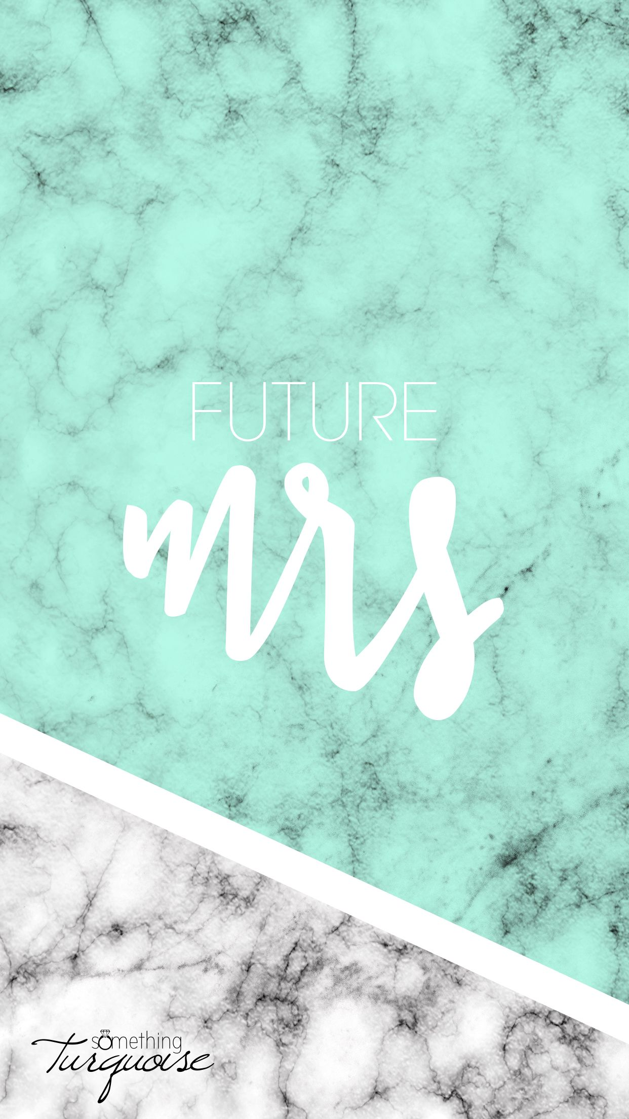 """Free, Marble iPhone Wallpapers For The """"Future Mrs"""