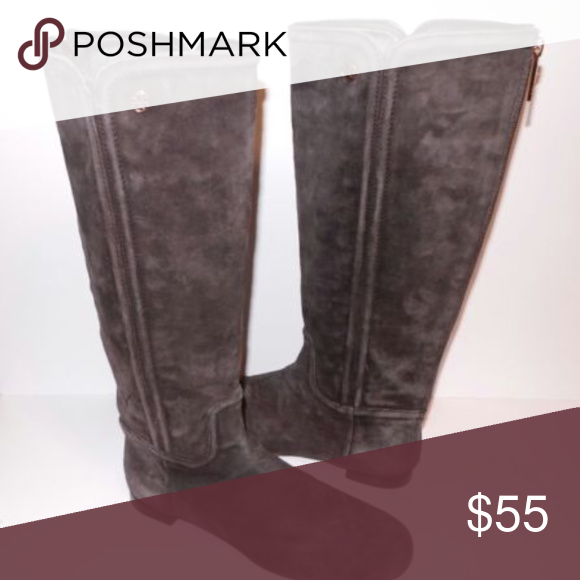 831e83c2f Tory Burch Boots SZ 8 Riding Brown Suede Leather Women s Tory Burch brown  suede leather boots