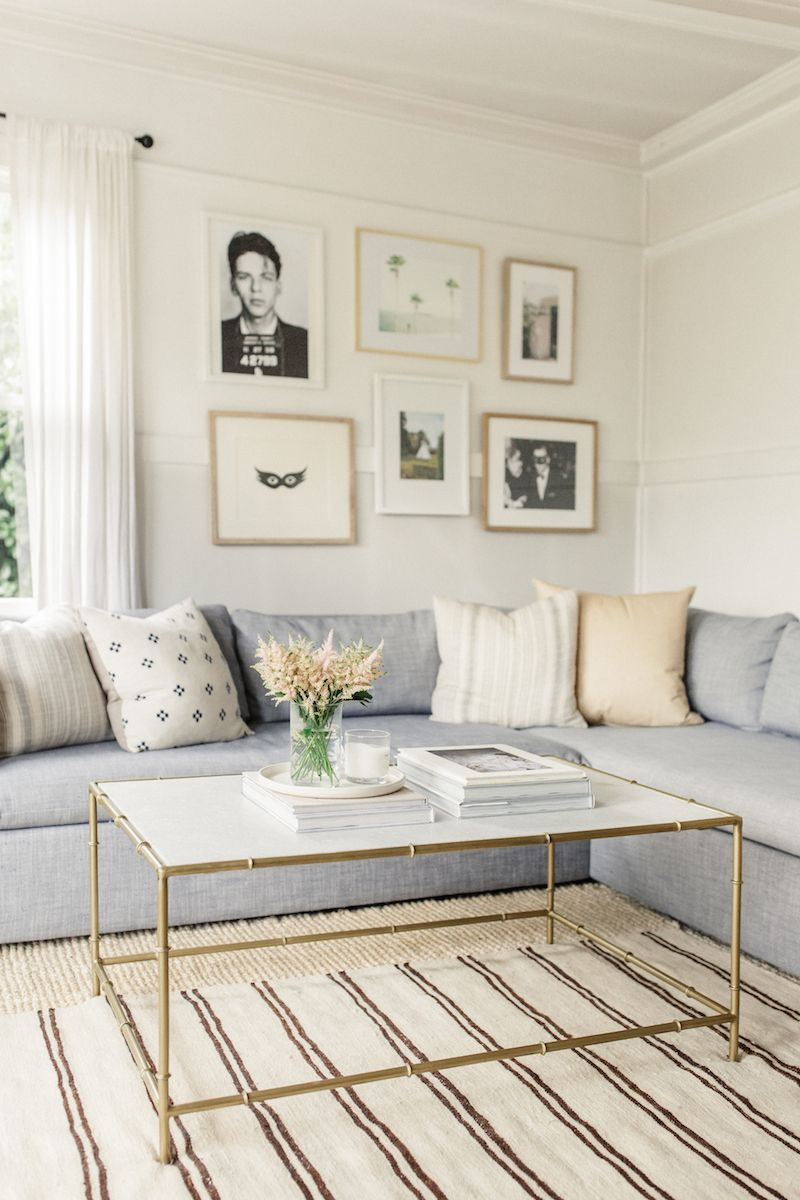 This 550 Sq Ft Apartment Is A Total Dream In 2020 Living Room Decor Neutral Living Room Designs Living Decor