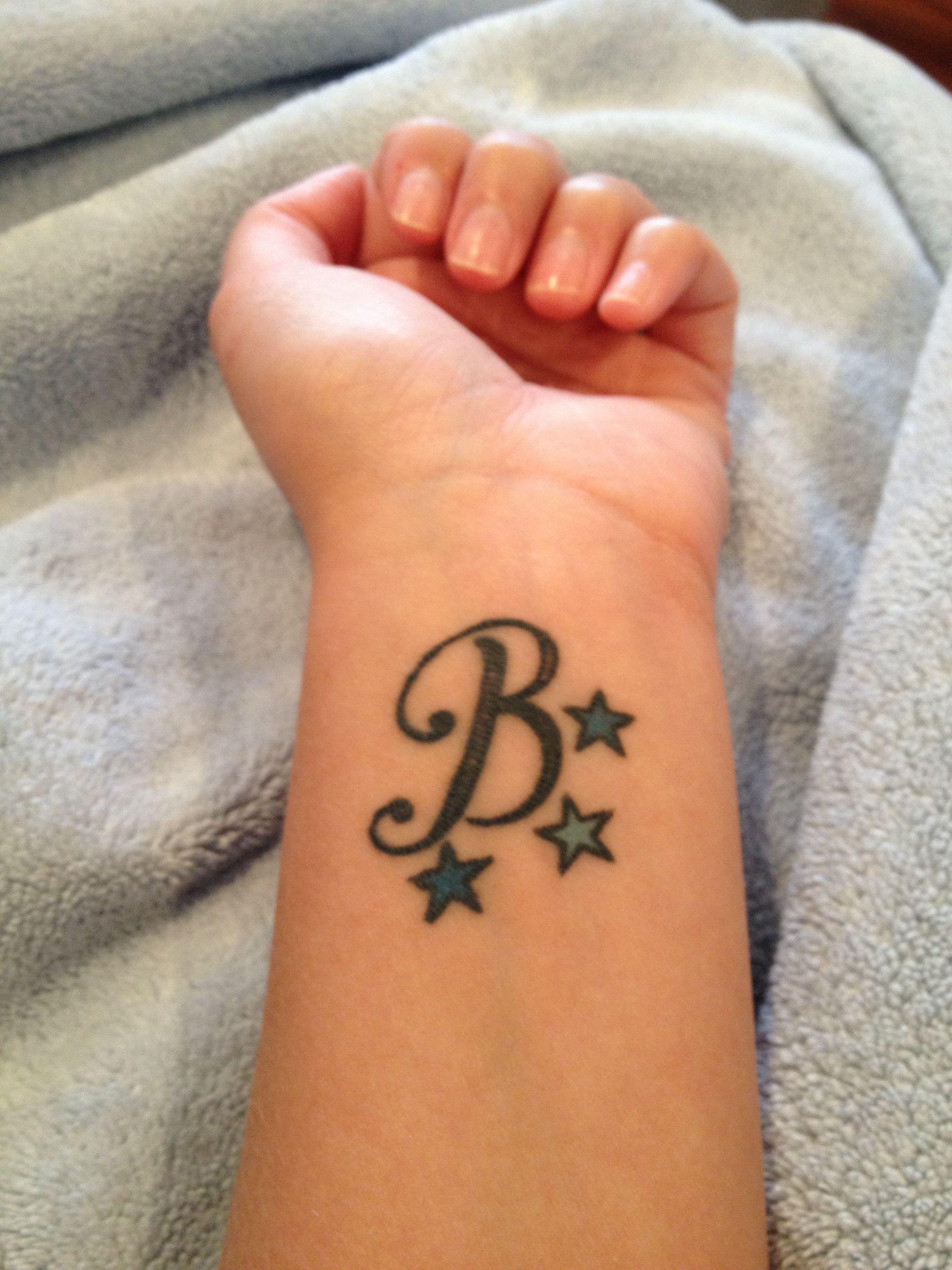 My Letter B Tattoo B Tattoo Letter B Tattoo Tattoo Lettering