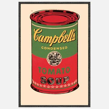 Andy Warhol S Groundbreaking Campbell S Soup Can Paintings Campbell S Soup Cans Campbell Soup Warhol
