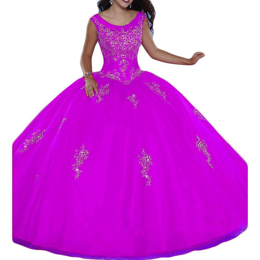 Oyisha womenus sweet dress beaded ball gown prom quinceanera