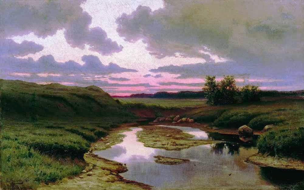 Le Prince Lointain: Efim Efimovich Volkov (1844-1920), Crépuscule.