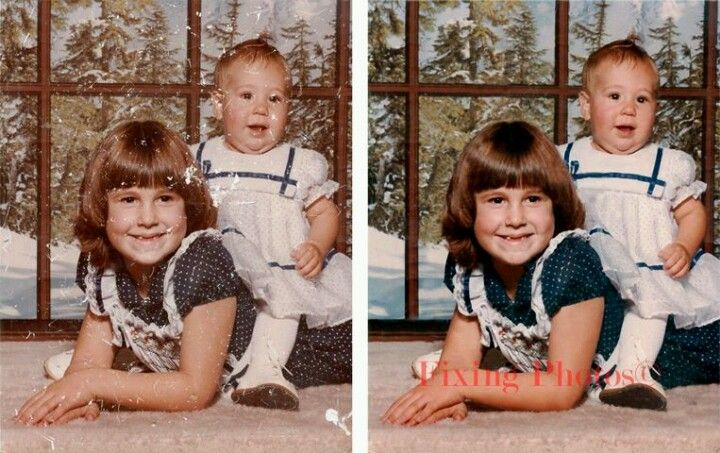 Photo Repair, Enhancement & Special Effects Let Us Enhanced Your Photos http://www.fixingphotos.com/ #photorestorationservices #giftideas