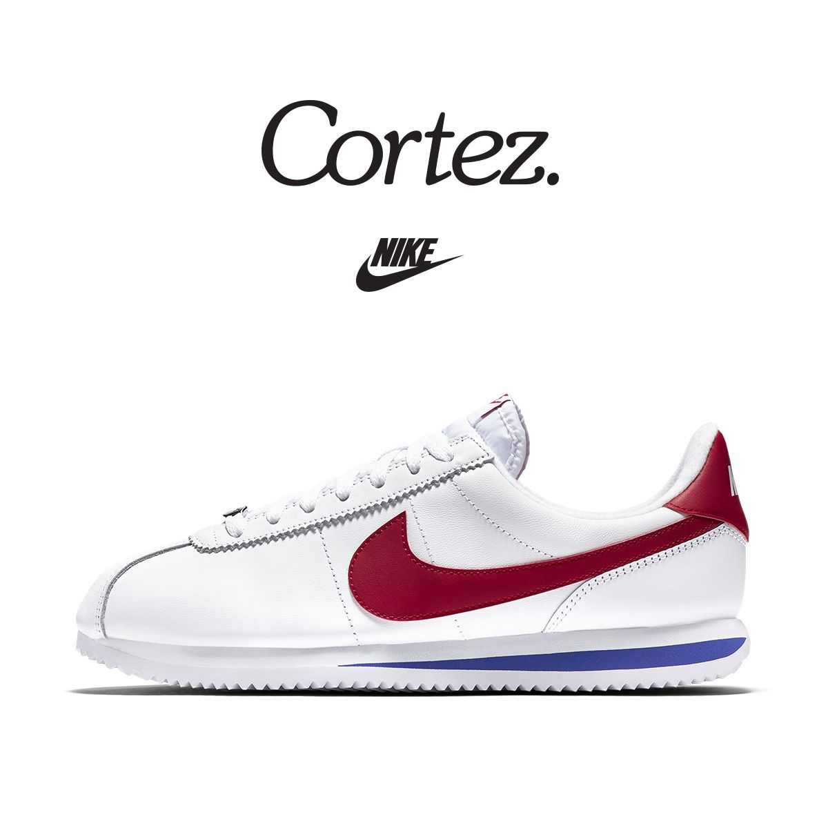 on sale 1a1e6 ea735 The Nike Cortez turns 45! Celebrate by copping this legendary colorway.