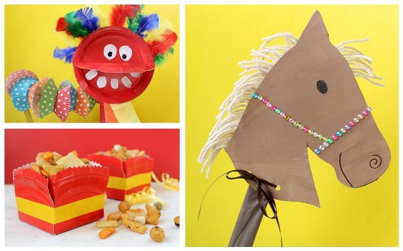 New Years Craft Ideas For Kids Part - 45: 3 Chinese New Year Crafts: Itu0027s The Year Of Horse And We Have 3 Awesome