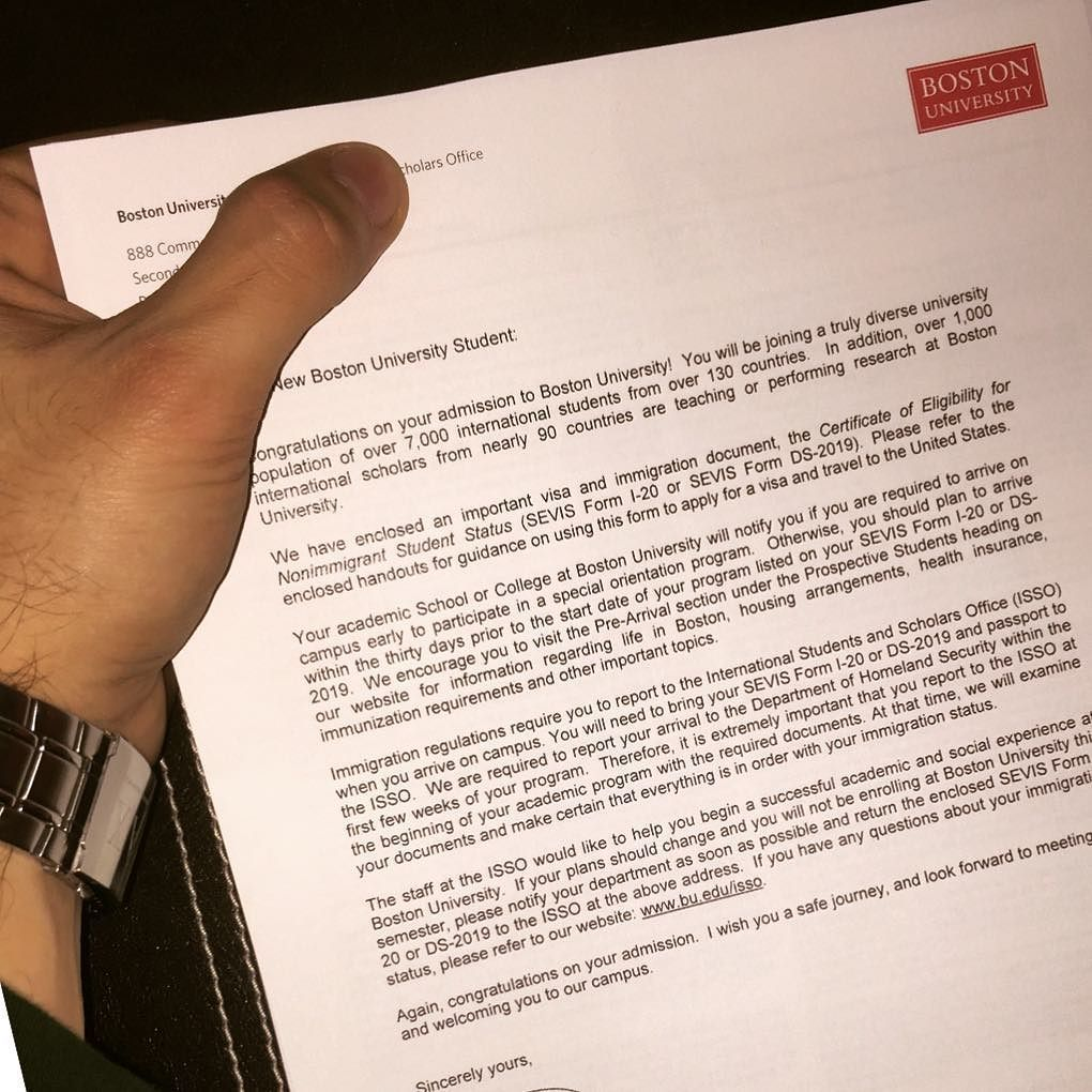 Finally got it! #finally #letterofacceptance #bostonuniversity #BU #boston #gettingready #blessmood #instamood by mr.marioss