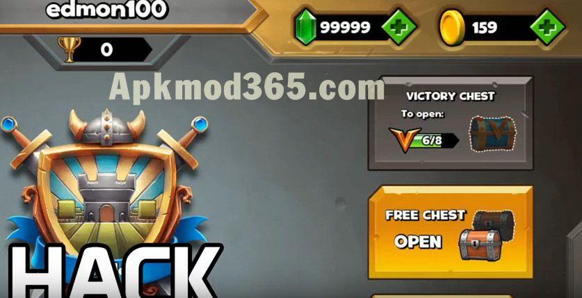 Download Castle Crush Mod Apk Unlimited Gems 2018 Latest Version