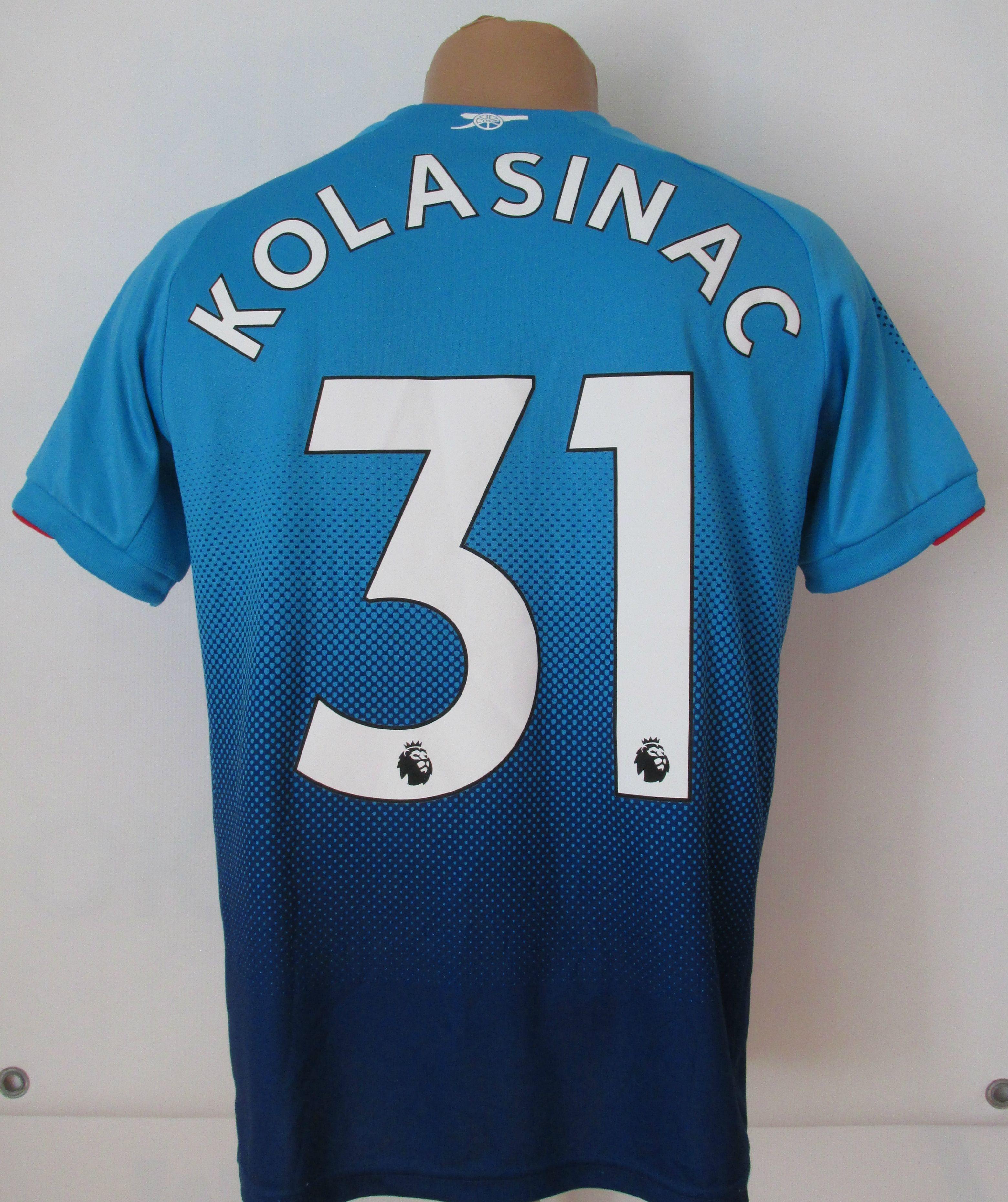 huge selection of 5a5f8 e30c3 Arsenal 2017/2018 away Sead Kolasinac football shirt by Puma ...