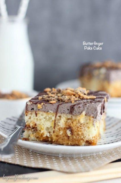 버터핑거 포크 케이크