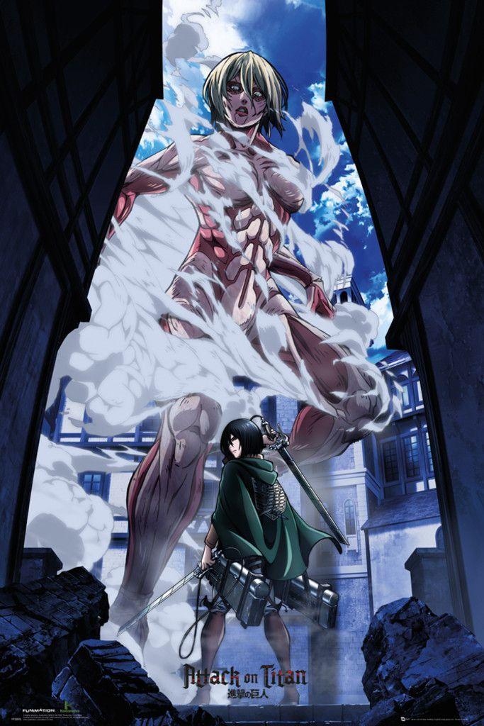 Attack On Titans Part 2 Art Official Poster Ataque Dos Titas Anime Animes Wallpapers