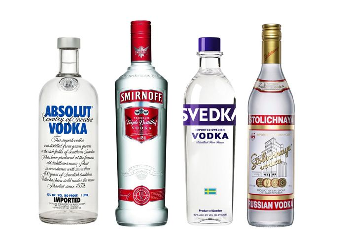 Vodka vs. Consumers Top Selling Vodkas Stack Up On