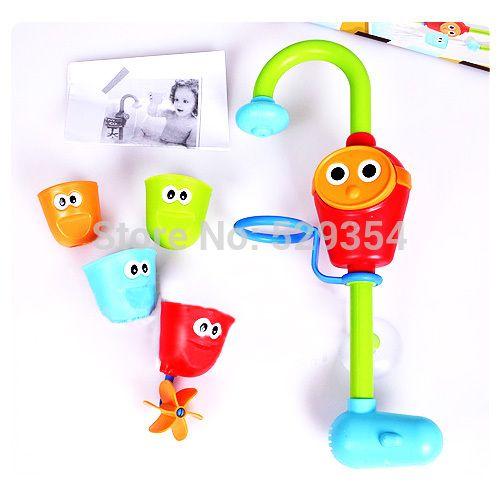 banho de chuveiro spray baby água brinquedos brinquedo brinquedos conjunto torneira angift