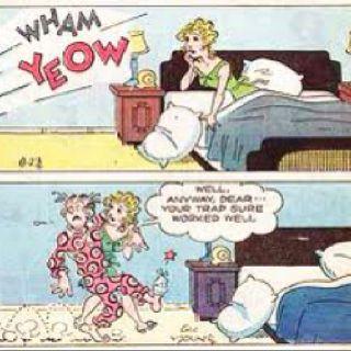 Adult blondie cartoon dagwood
