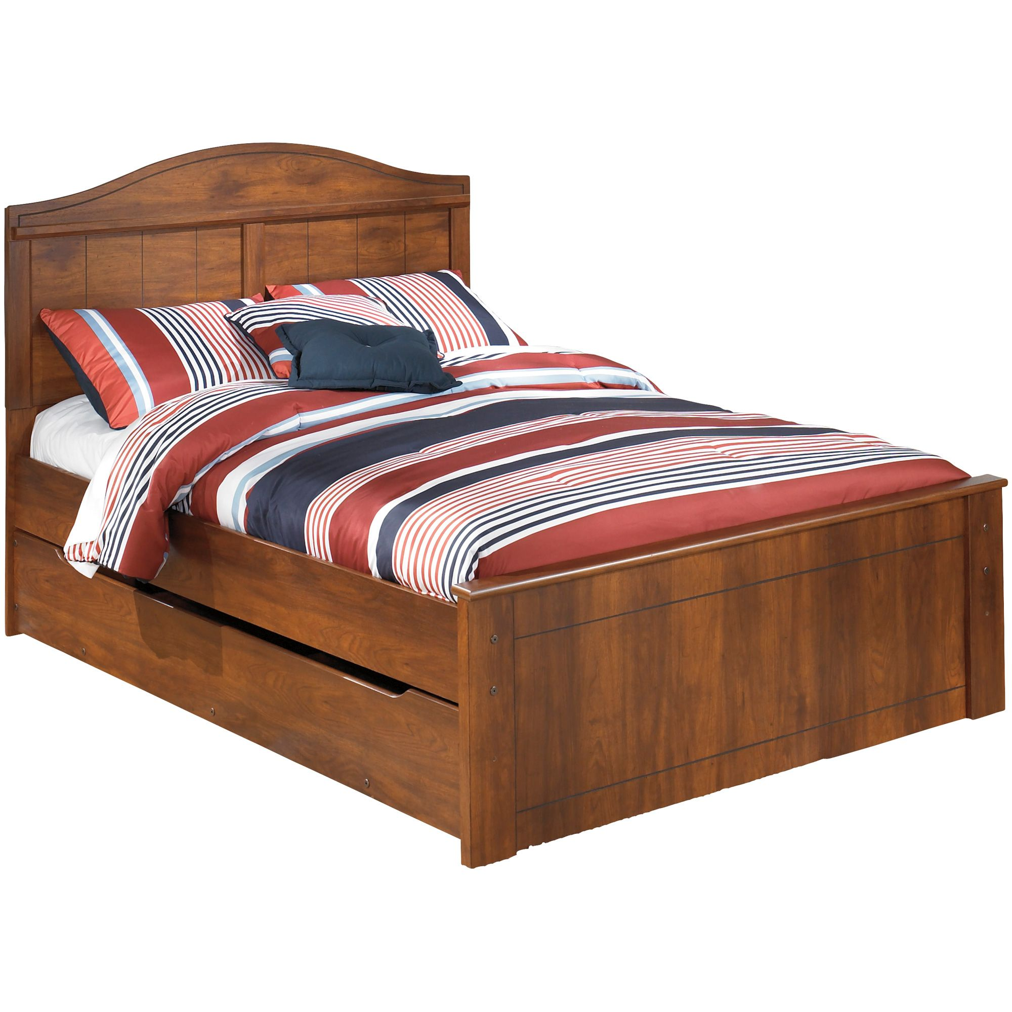 Barchan Brown Full Trundle Bed Trundle Bed Twin Trundle Bed