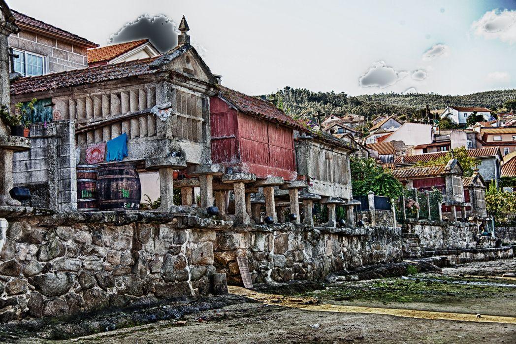 Blog de PACO LIMA: GALICIA - Hórreos en Combarro - Poyo, Pontevedra
