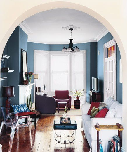 Narrow Living Room Solutions: 14 Living-Room And Dining-Room Makeovers