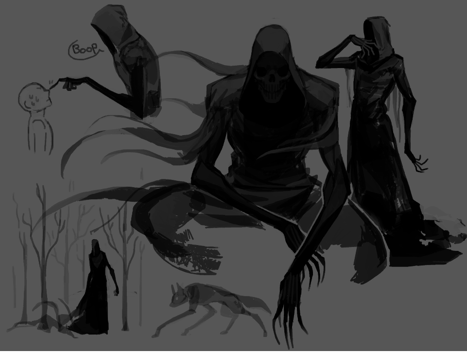 Kadabura Kadaburadraws Twitter Shadow Creatures Creature Concept Art Concept Art Characters