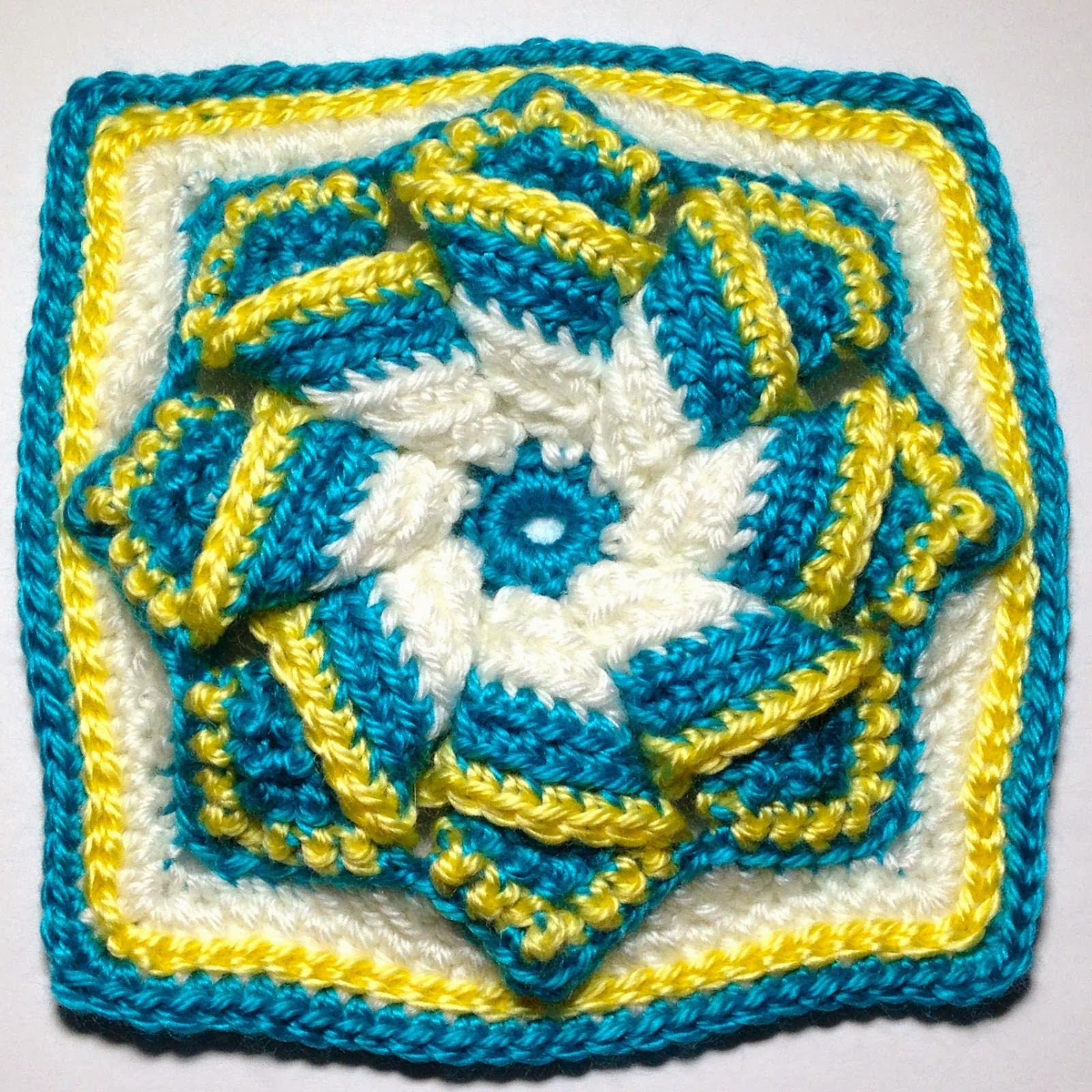 Free Crochet Patterns: Free Crochet Granny Square Motif Patterns ...
