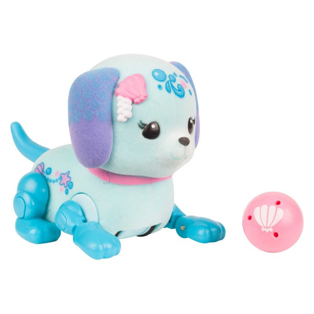 Little Live Pets Lil Cutie Pup Shelley Blue Little Live Pets Hello Kitty Makeup Cutie