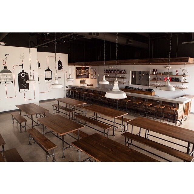 Dining Room Tables Chicago: Penrose Brewing, Chicago