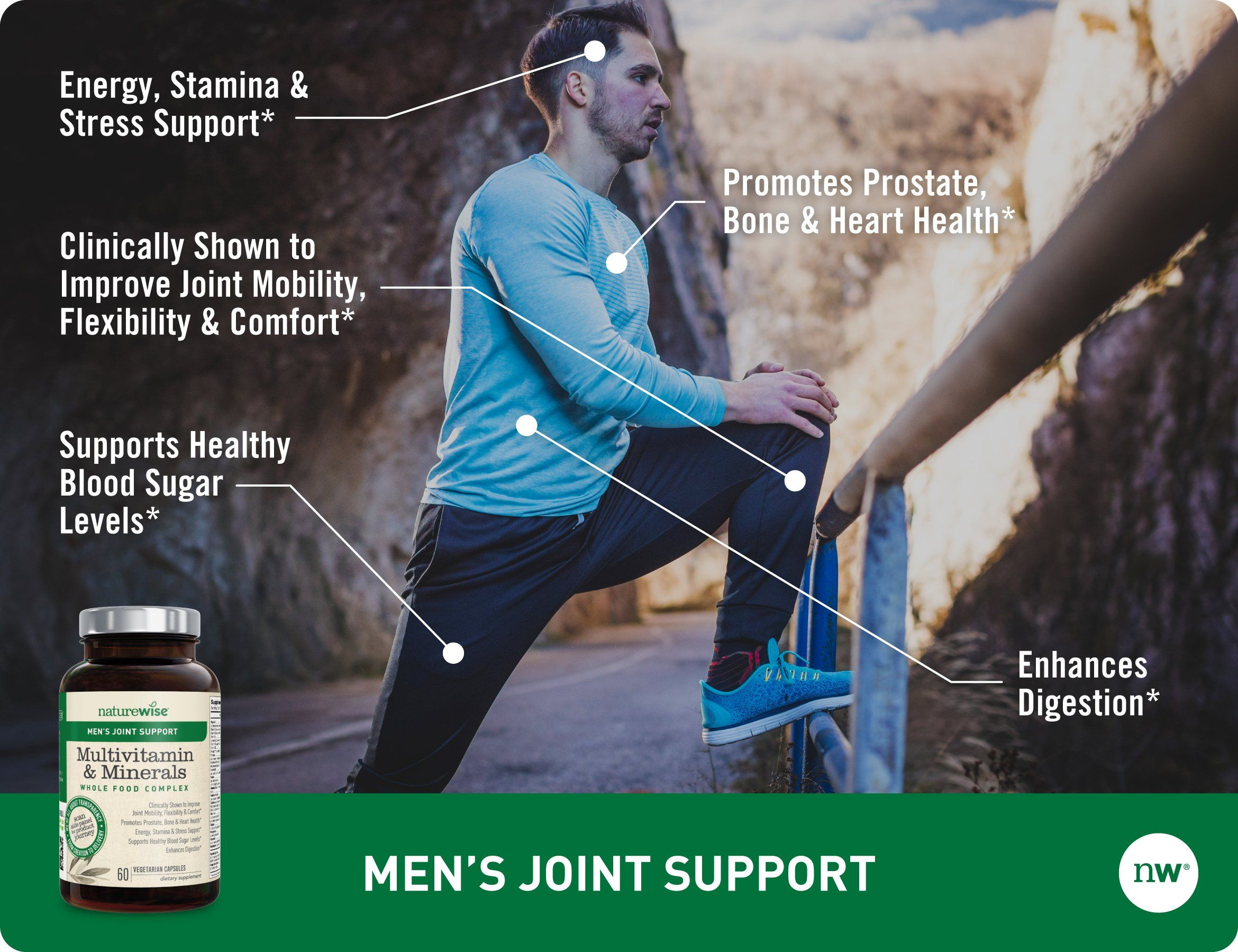 Fertility supplements naturewise mens joint support