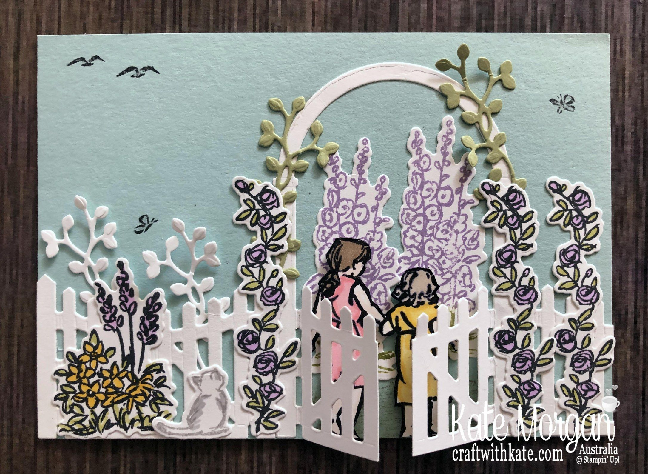Beautiful Moments in Grace's Garden – Kate Morgan, Independent Stampin Up!® Demonstrator Rowville, Victoria, Australia