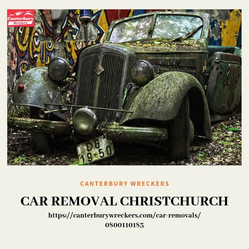 Canterbury Wreckers is the car wreckers' yard in