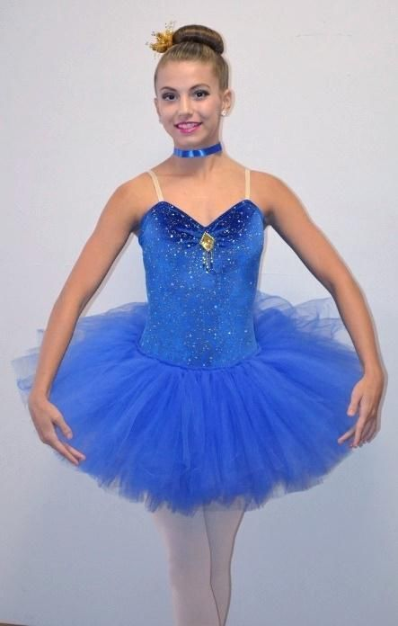 42c5626a5473 SAPPHIRE Cinderella Blue Ballet Ballerina Tutu Dance Costume Child & Adult  Sizes #Cicci