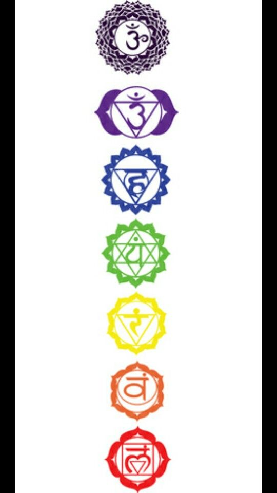 My Next Tattoo Will Be The 7 Chakra Symbols Down My Spine With