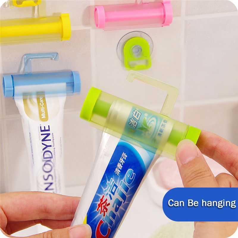 Bathroom Accessories Rolling Tube Tooth Paste Squeezer Toothpaste