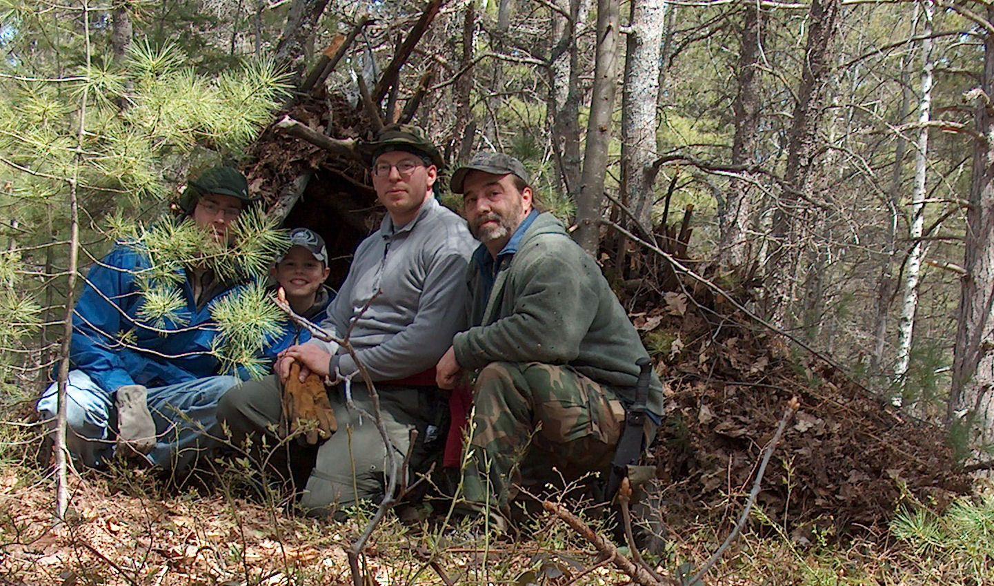 Author Survival Instructor Len Mcdougall Teaches Students