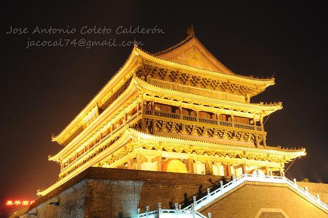 Torre del Tambor nocturna | Flickr: Intercambio de fotos