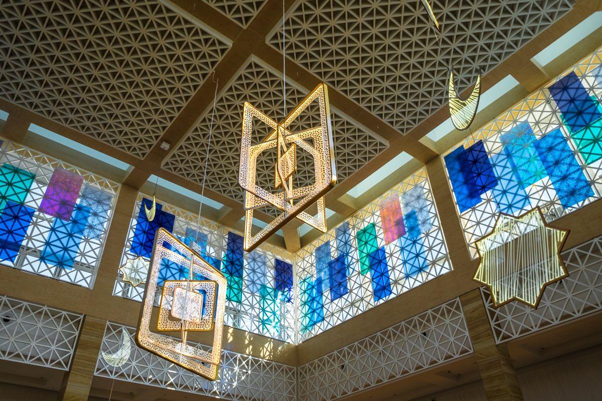 Ramadan decorations in Mirdif Mall 1 | AzeemAzeez.com ...