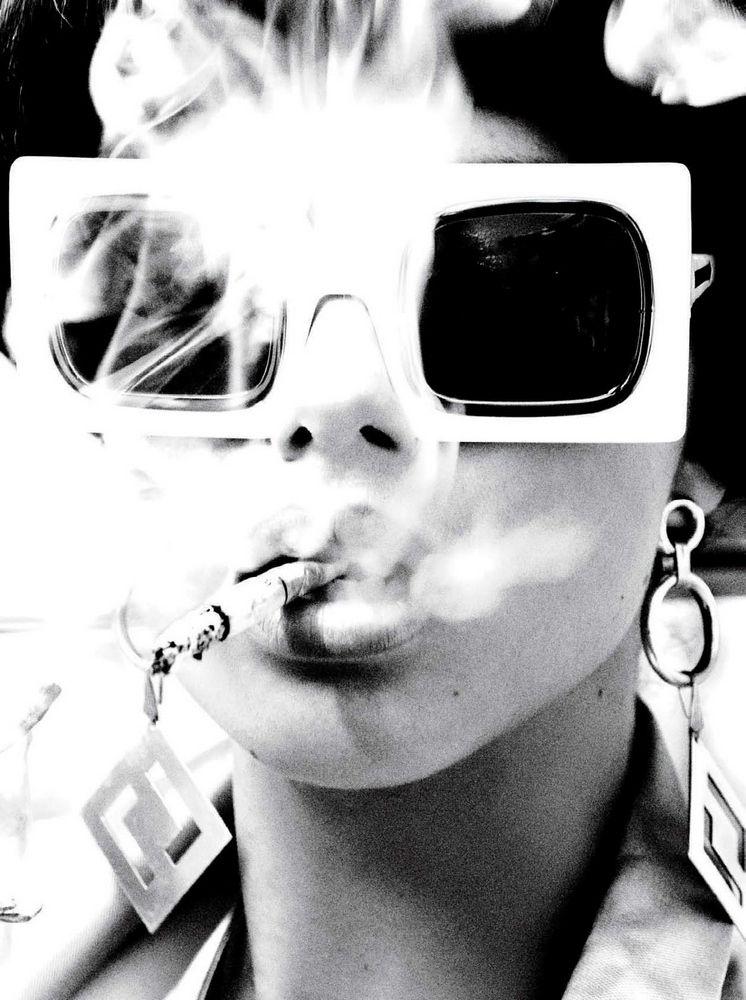 Adriana Lima #smoke