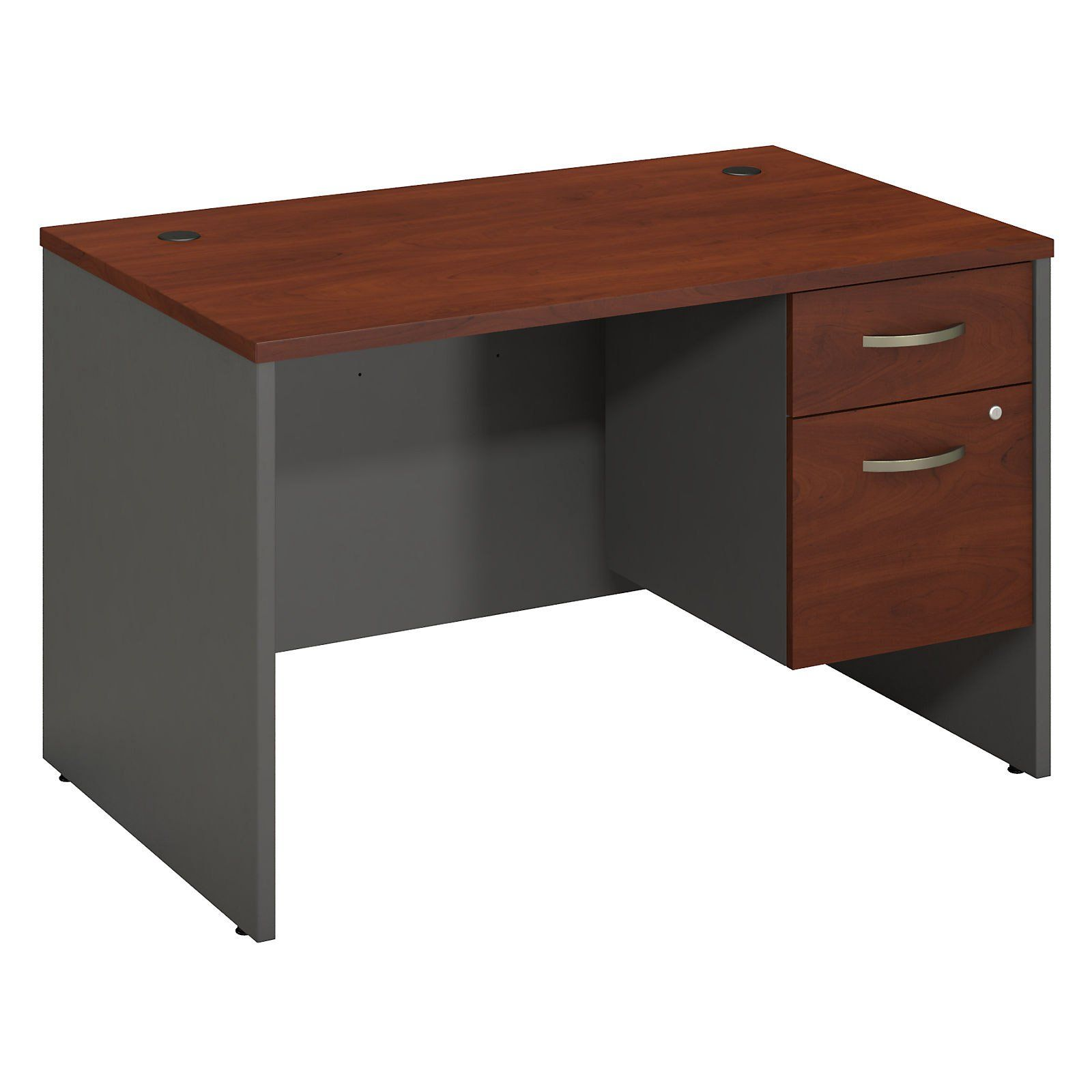Bush Furniture Series C 48 In. Desk Shell With 3/4