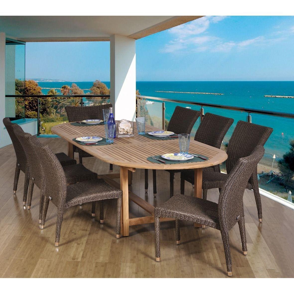 44+ Tahiti 7 piece oval outdoor dining setting Inspiration