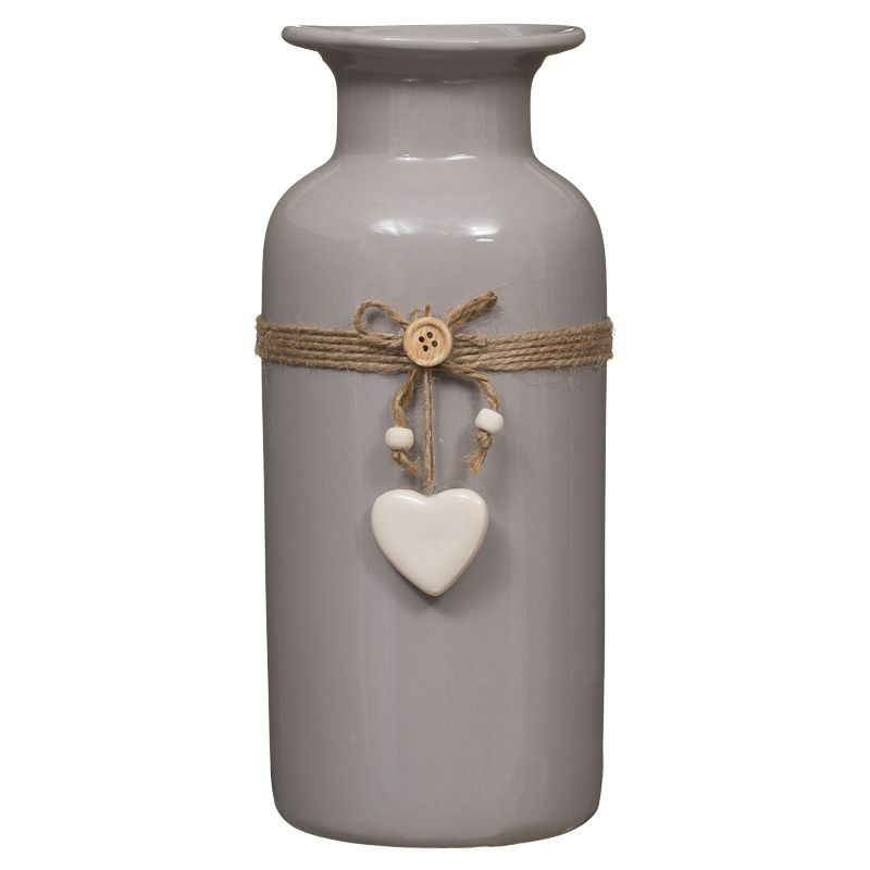 289892-24cm-String-Heart-Motif-Bottle-Vase-taupe