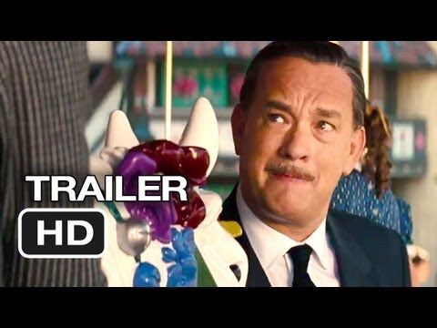 Saving Mr Banks Official Trailer Tom Hanks Movies Tom Hanks Saving Mr Banks