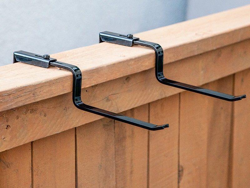 Medallion Deck Bracket (Pair)   Railing planter boxes ...