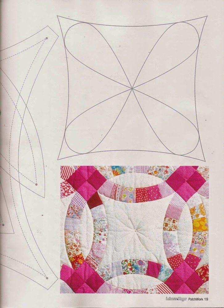 Revistas de manualidades gratis como hacer colcha en - Patrones para colchas de patchwork ...