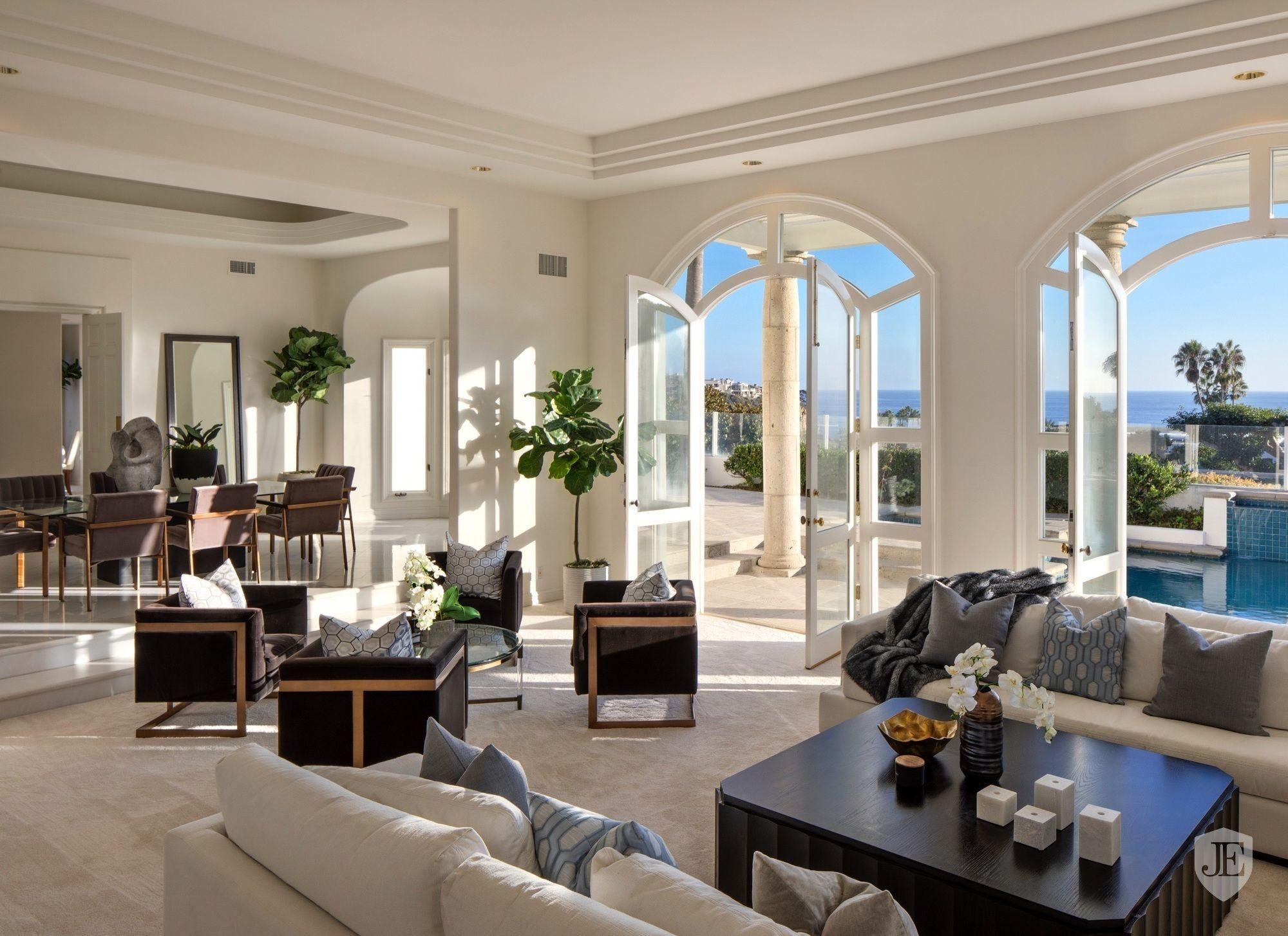 2550 Irvine Cove In Laguna Beach Ca United States For Sale 10419021 White Marble Floor Laguna Beach Interior Design